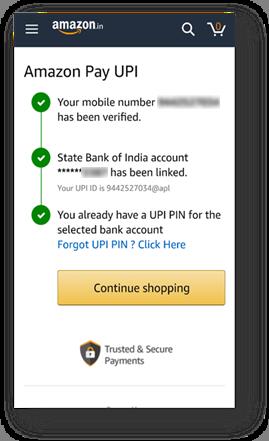 Amazon Pay Setup Step 2