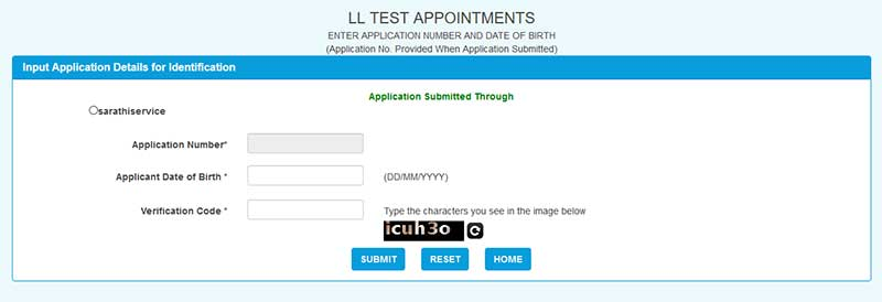 How to Apply for New Learner's Licence Step 9