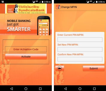 Syndicate Bank Mobile Banking Step 6 Part 1