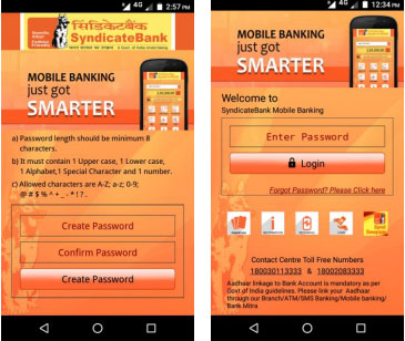 Syndicate Bank Mobile Banking Step 6 Part 2