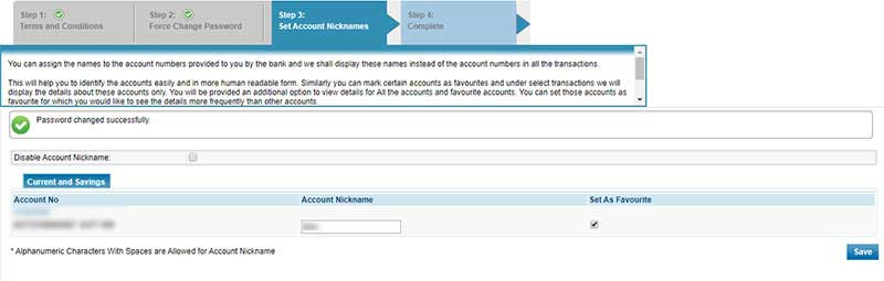 How to Login to Net banking Account in Syndicate Bank Step 6