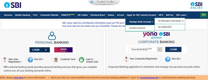 SBI Savings Bank Account Opening Step 5