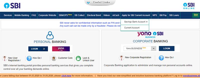 SBI Savings Bank Account Opening Step 6