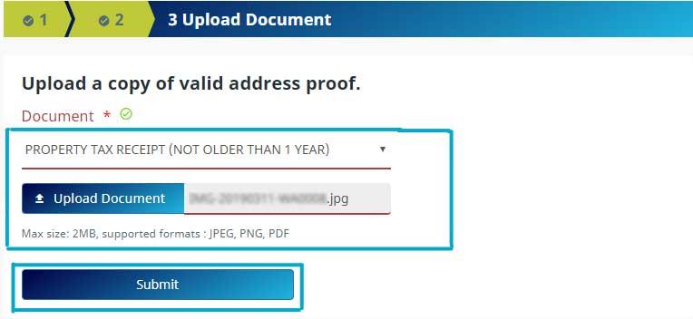 How to update make corrections in Aadhaar Card in Online Step 10