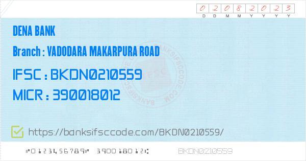 BKDN0210559 - IFSC Code Details