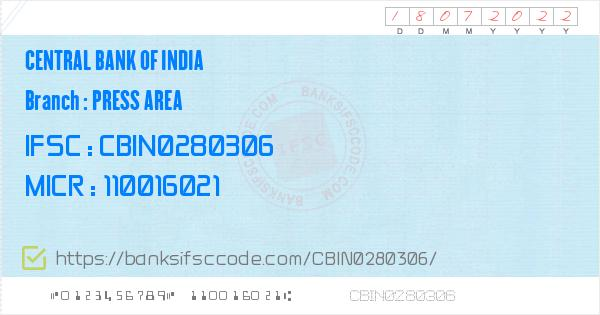 By Photo Congress || Ifsc Code Of Central Bank Of India