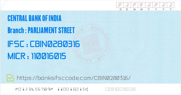 central bank of india ifsc code delhi branch