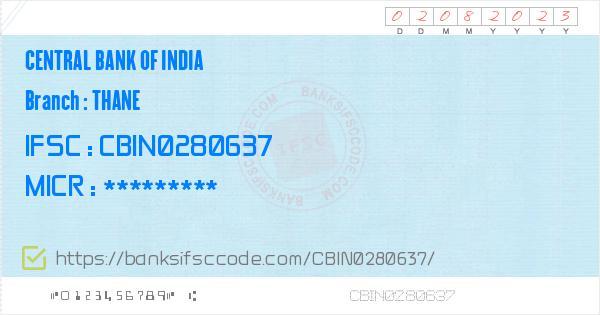 bank of india near thane station
