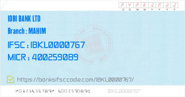 bank of india mahim branch email id