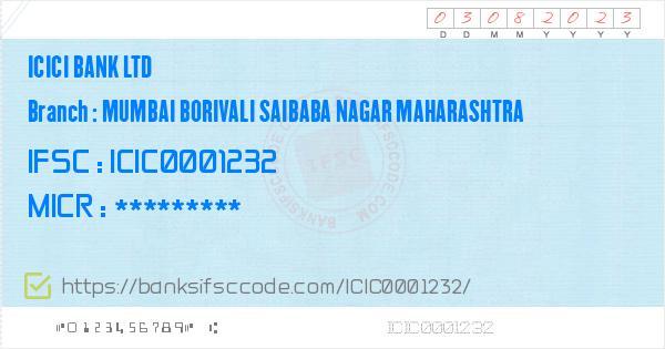 ifsc code icici bank deonar branch mumbai
