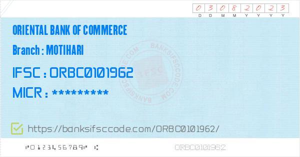 ifsc code of oriental bank of commerce nawada bihar