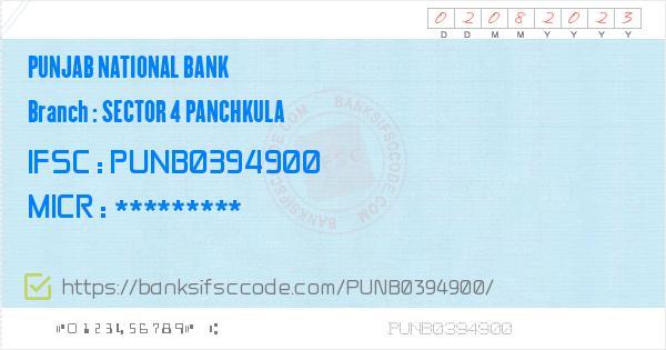 Panchkula zip code