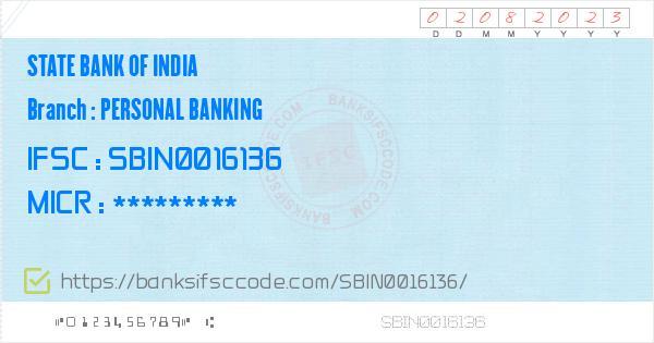 sbi personal bank