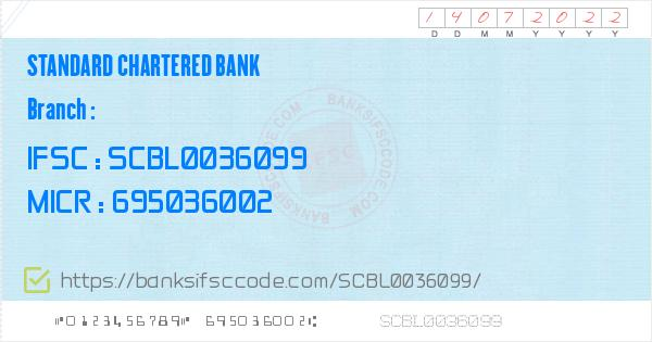 how to change residential address in standard chartered bank