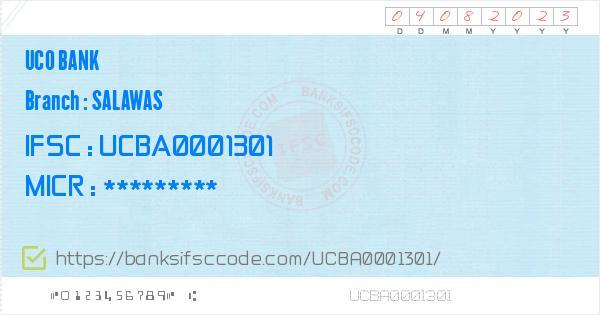 Ucba0001301 Ifsc Code