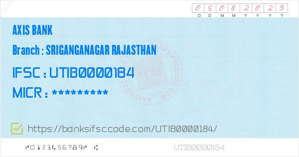 Utib0000184 Ifsc Code